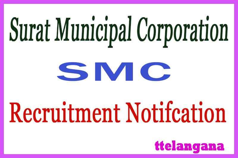 Surat Municipal Corporation SMC Recruitment Notifcation
