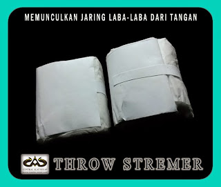 TOKO SULAP JOGJA THROW STREAMER MAGIC