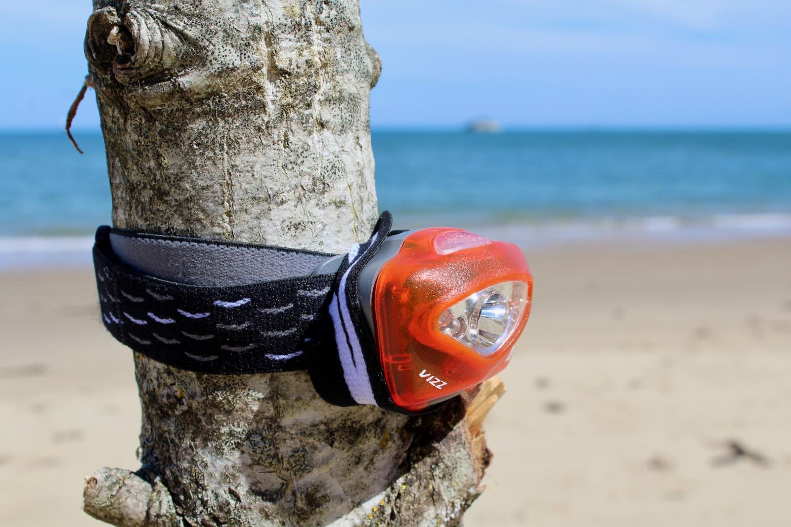 Princeton Tec Vizz LED 165 Lumen Waterproof Head Torch