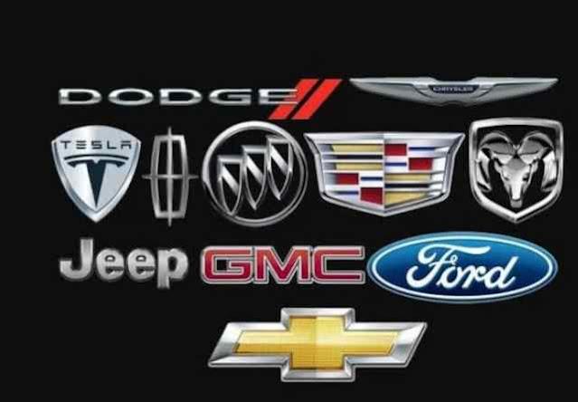 اسماء السيارات الأمريكية
