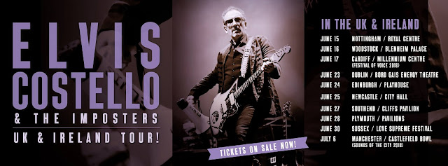 Elvis Costello And The Imposters Live! Ten UK & Ireland Dates This Summer