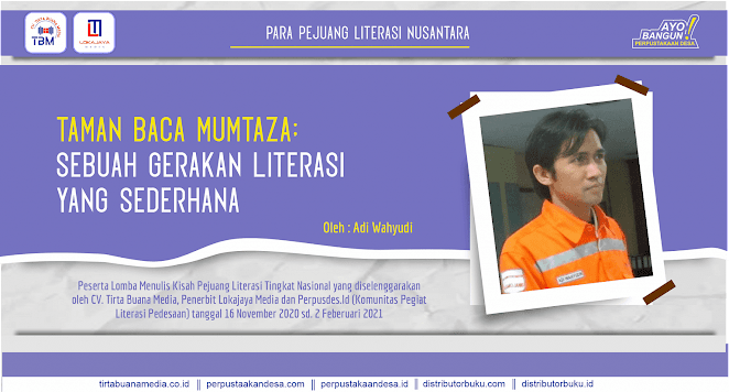Taman Baca Mumtaza: Sebuah Gerakan Literasi yang Sederhana