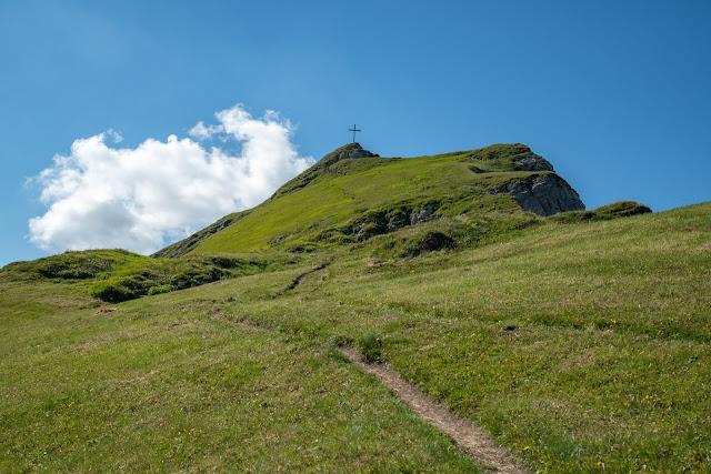 Bergtour Rappenstein von Steg  Wandern Fürstentum Liechtenstein 05