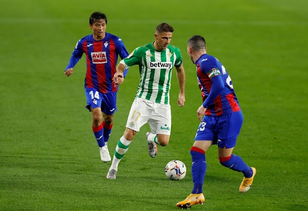 Eibar y Betis se juegan la temporada, el jueves a las 20 h., en GOL