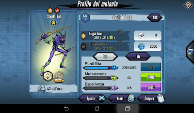 Mutants: Genetic Gladiators Breeding video N°141 (Android - Stealth Bot)