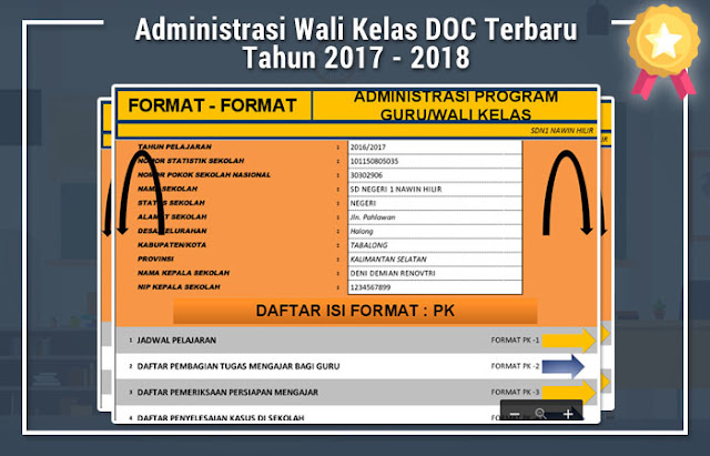 Administrasi Wali Kelas DOC