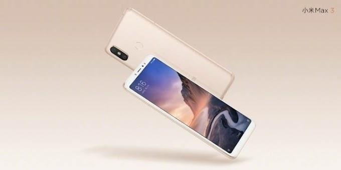Xiaomi Mi Max 3 officially announced