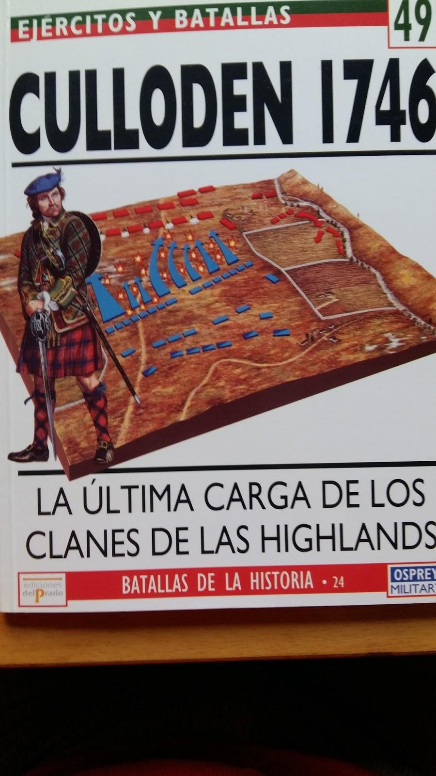 Batalla de Culloden Moor -