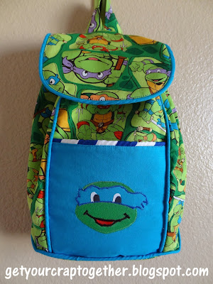 Ninja Turtle Backpack
