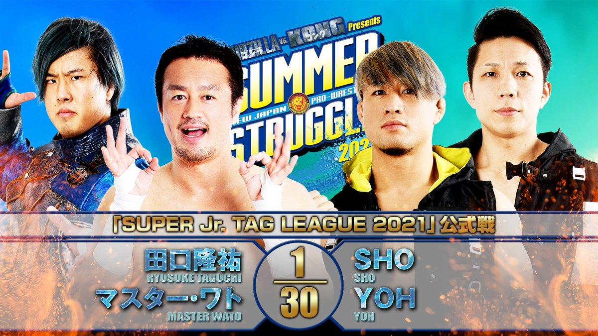 Cobertura: NJPW Summer Struggle 2021 – Day 11 – Derrocada!