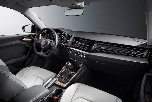 Novo Audi A1 2019 - interior - painel