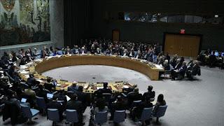"""رئيس مجلس الأمن يحذر من خطورة الوضع الراهن بإدلب ويدعو إلى """"وقف فوري لاطلاق النار"""""""