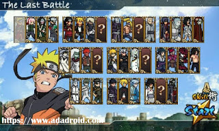 Naruto Senki NS4: The Last Battle Apk v1 by Faisal Android Terbaru