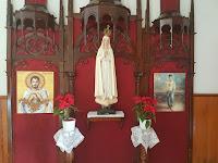 Resultado de imagen de retablo neogotico de ntra. sra. del rosario de fñatima en iglesia Guadalupe Los Realejos