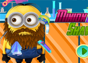 Minion Beard Shaving