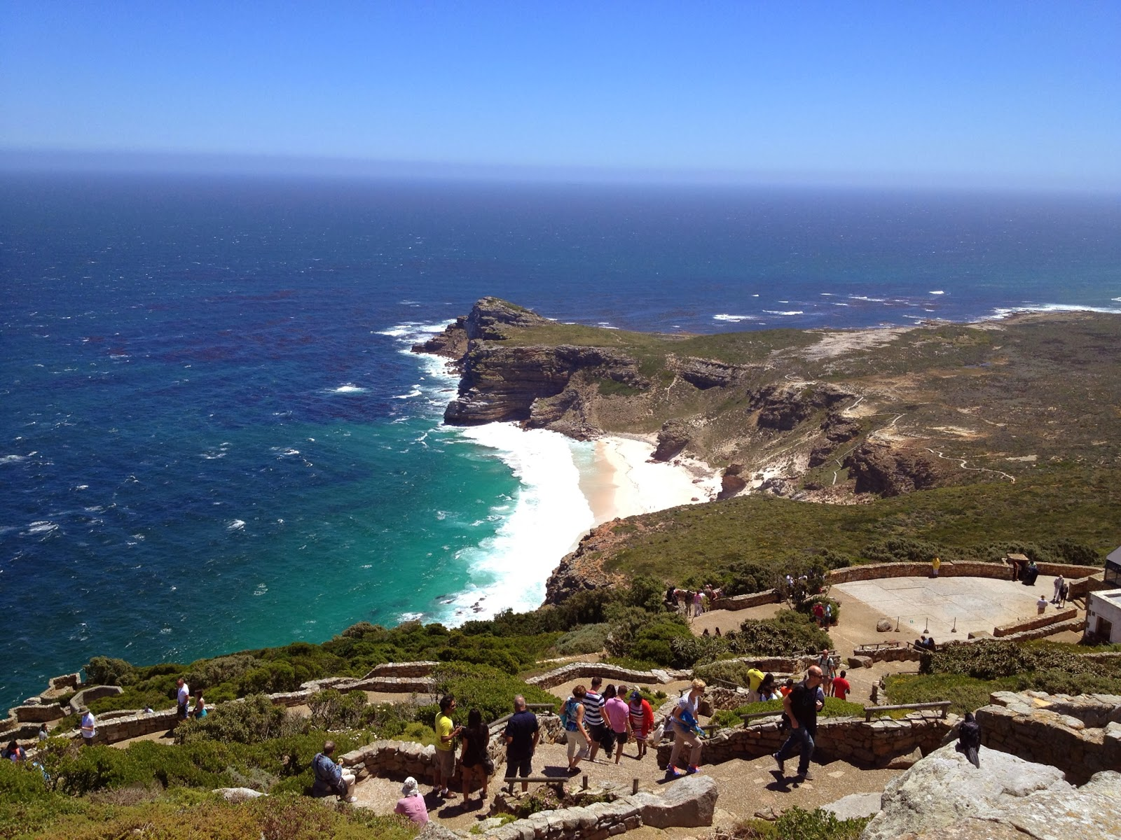 Cape Point Tour - Climbing to the top of Cape Point