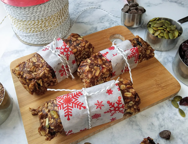 No-Bake High Fiber Breakfast Granola Bar