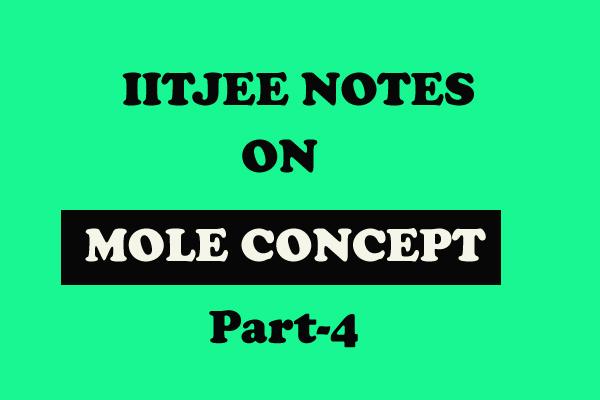 Mole Concept images