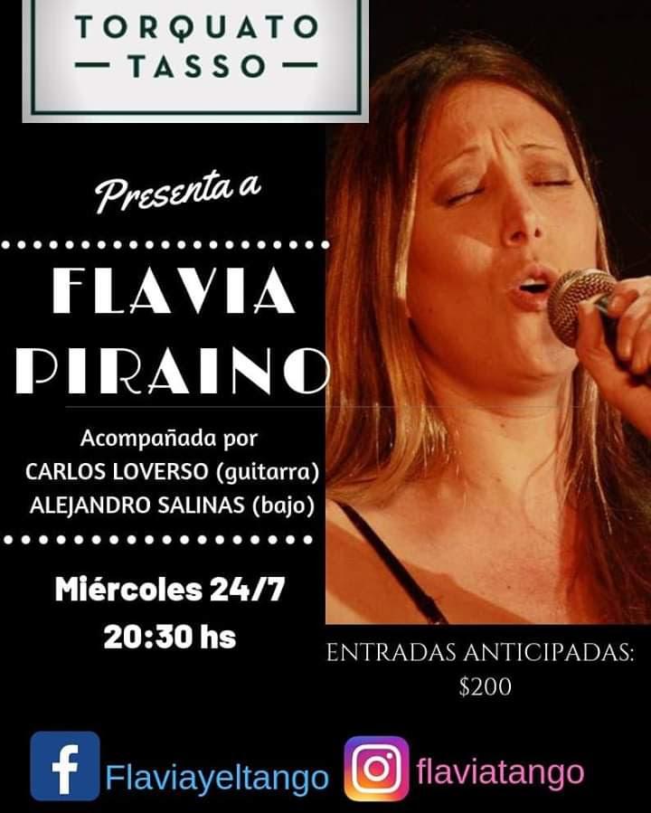 """El ritmo del 2x4 llega al Torquato Tasso con """"Flavia y el Tango"""""""
