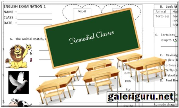 Contoh Soal Remedial Bahasa Inggris Smp Dan Sma Galeri Guru