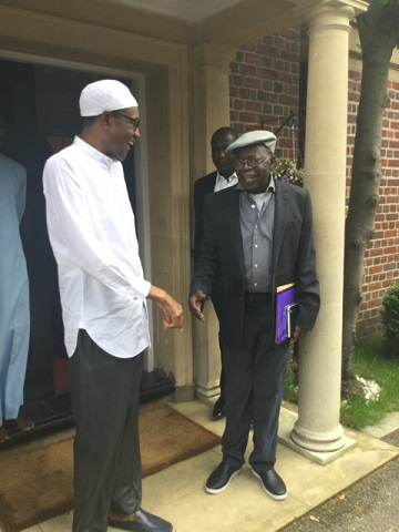 Buhari, Tinubu Meet In London Today, See Photos