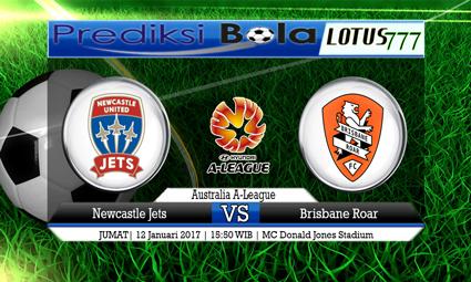 PREDIKSI SKOR Newcastle Jets vs Brisbane Roar 12 Januari 2017