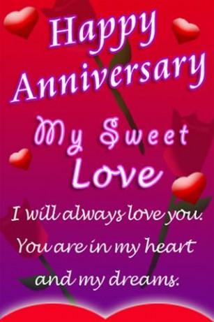 Happy Anniversary My Love Wishes Amp Love
