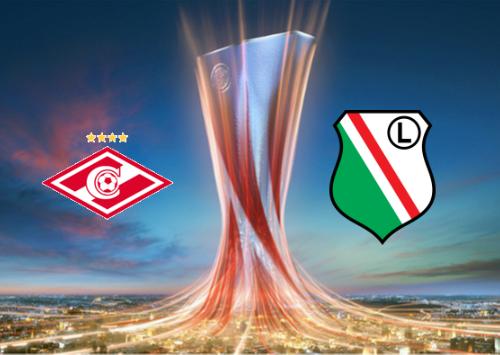Spartak Moscow vs Legia Warsaw -Highlights 15 September 2021