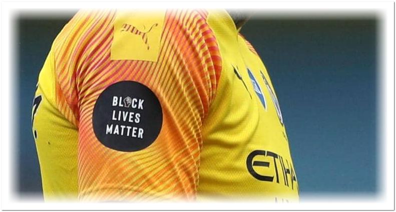 """البريميرليغ يستبدل شعار """"حياة السود مهمة"""" بآخر.. فما هو؟"""