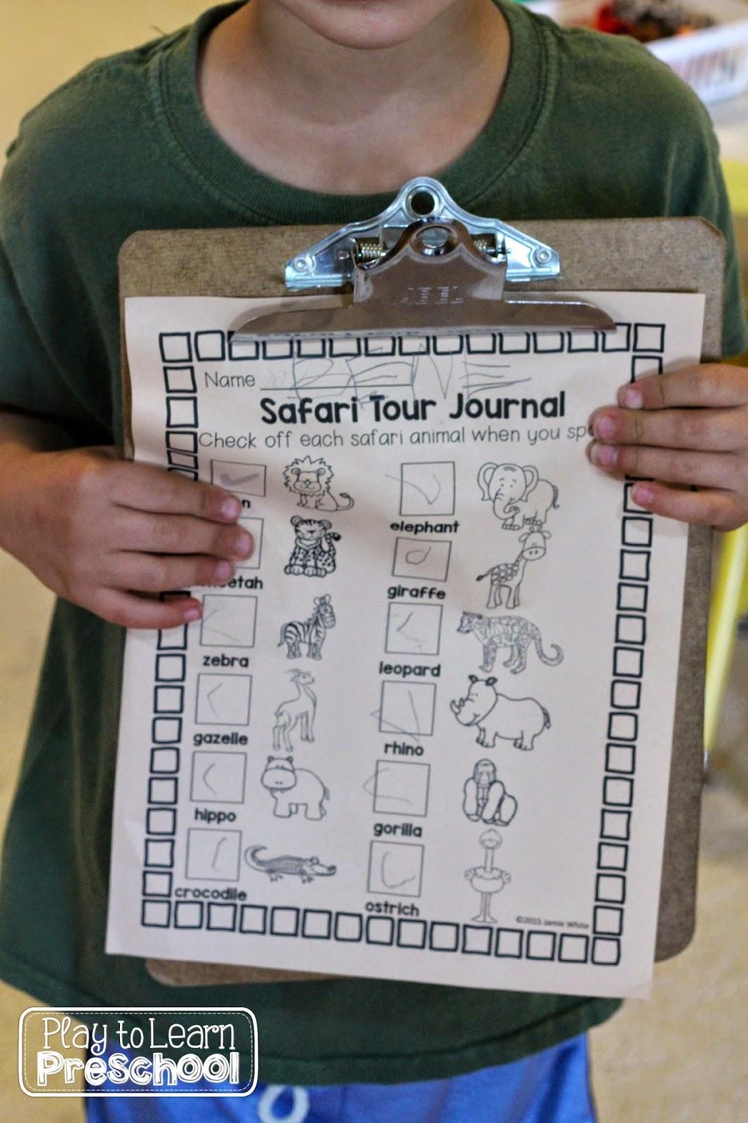 Take Your Students On A Wild Classroom Safari