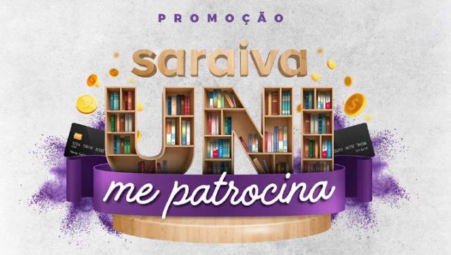"Promoção ""SaraivaUni me Patrocina""  Blog Top da Promoção #topdapromocao @topdapromocao www.topdapromocao.com  http://topdapromocao.blogspot.com sorteio instagram facebook youtube twitter pinterest"