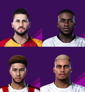 PES 2021 Facepack 2 by GD