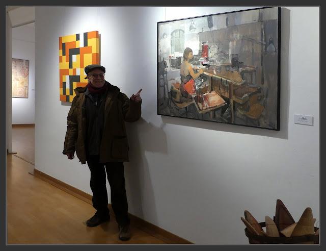 SITGES-PINTURA-TALLER DE JOIERIA-EXPOSICIO-CONCURS-SANVISENS-FOTOS-ARTISTA-PINTOR-ERNEST DESCALS