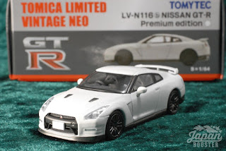 [TOMICA LIMITED VINTAGE NEO LV-N116b 1/64] NISSAN GT-R Premium edition (White)