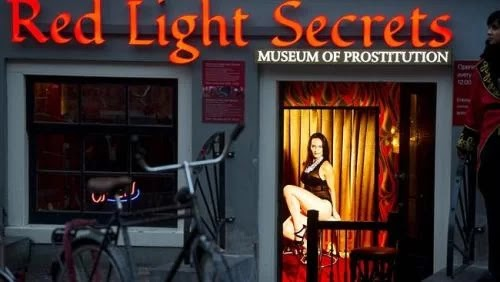 The mystery behind Amsterdam red light district
