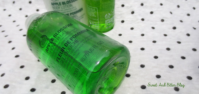 The Body Shop Apple Blossom Shower Gel Review