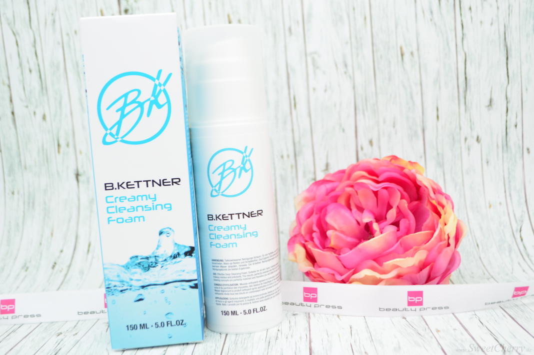 Beauty Neuheiten Winter 2016 - B.Kettner - Creamy Cleansing Foam