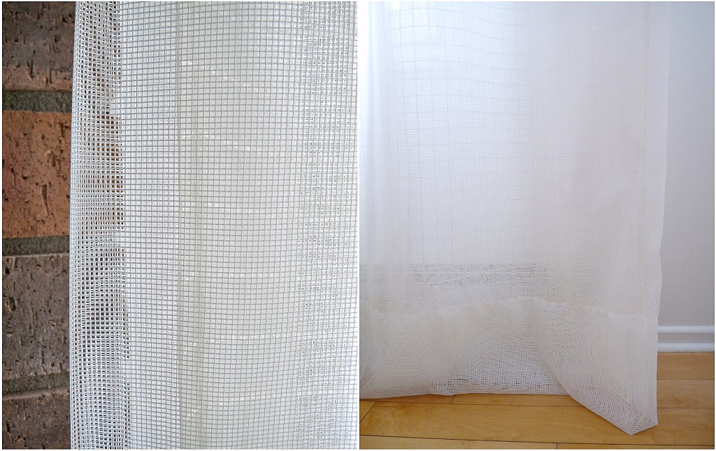 DIY Sheer Curtains | Increasing Privacy with Layered Sheers