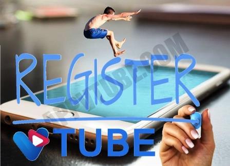 pendaftaran vtube, cara daftar vtube, registrasi vtube, v-tube registration