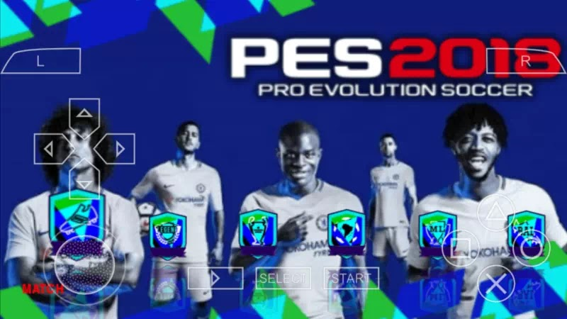 PES 2018 PPSSPP ISO Android By Jogress V3 Full Transfer