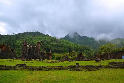 Ruins of Vat Phou in Pakse Champasak