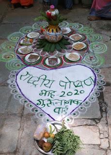 पोषण माह के अंतर्गत जिले में विभिन्न गतिविधियां जारी, महिलाओं को बताया पोषण आहार का महत्व