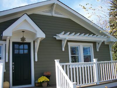 Crownsville Gray {exterior paint color} - Favorite Paint Colors Blog