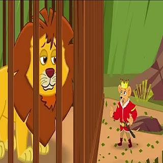 hindi kids story | शेर और चूहें का याराना | jungal ki kahani