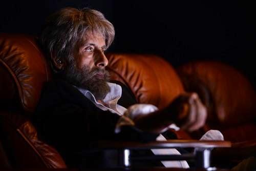 Shamitabh look of Amitabh Bachchan