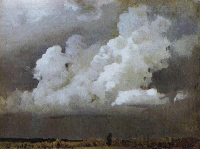 Исаак Ильич Левитан - Перед грозой. 1890