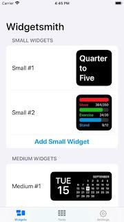 Widget smith tutorial