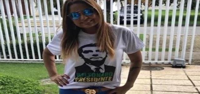 Essa foi a primeira vez que Carmem Eliza Bastos participou de uma coletiva de imprensa sobre o caso
