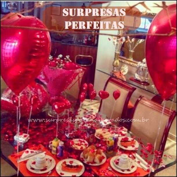 surpresa dia dos namorados