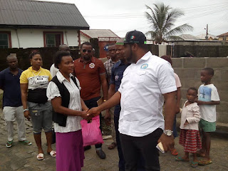 Hon Abinye  Pepple Arrives Bonny To Inspect Site Of Fire Incident